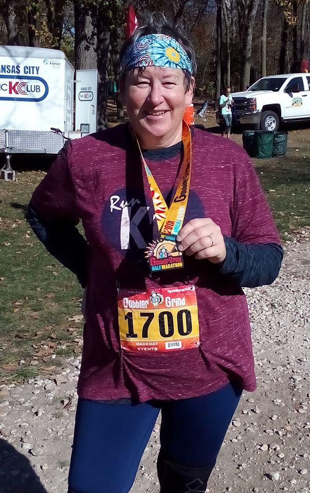 GobblerGrind half marathon